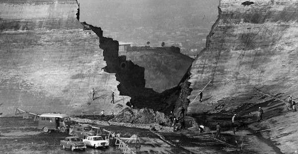 Baldwin Hills dam disaster 1963, Doug Wilson:Herald Examiner at LA Public Library
